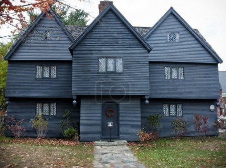 Witch House in Salem, Massachusetts