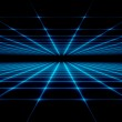 Abstract technology grid background...