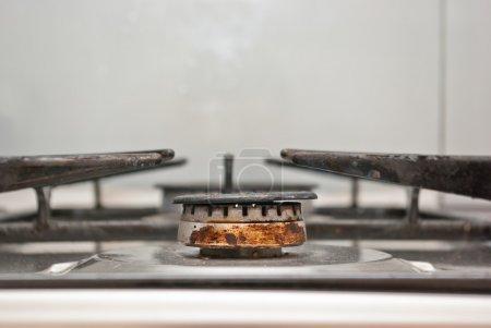 Rusty gas burner