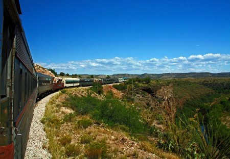 Verde Canyon Train Ride in Arizona