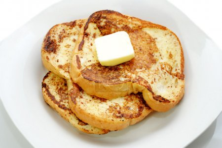 Golden Hot French Toast with Fresh Butter