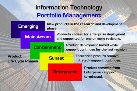 Information Technology Portfolio Management Diagram