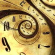 Abstract Time Background Concept Illustration. Twi...