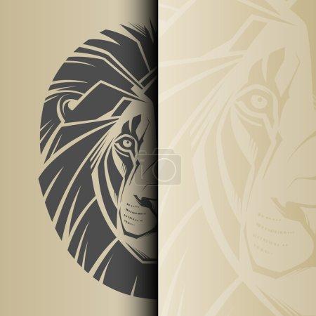 Illustration pour Lion. Illustration vectorielle - image libre de droit