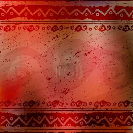 Abstract african ethnic patterns, ornaments - background
