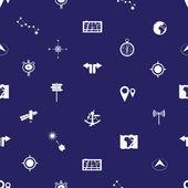 navigation icons pattern eps10