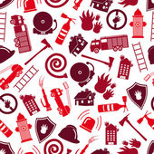 fire brigade red color seamless pattern eps10