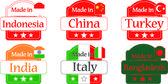 Made in Bangladesh-China-India-Turkey-Indonesia-Italy