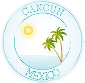 Stamp Cancun