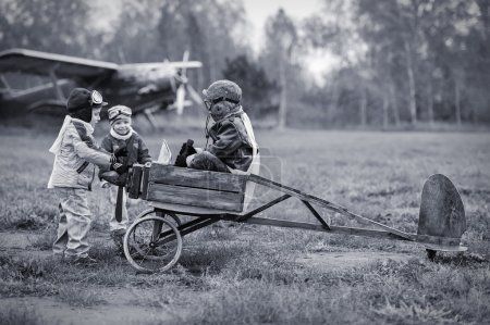 Young pilots