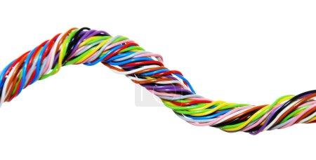 Multicolored   computer cables