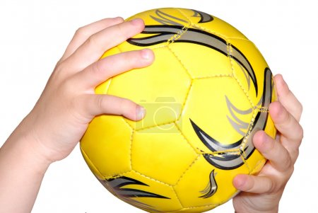 Ball in a hand