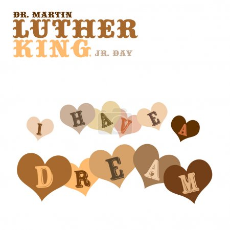 Photo pour Antécédents patriotiques, Dr Martin Luther King, Jr. 20 Janvier, 2014 - Journée de service - image libre de droit