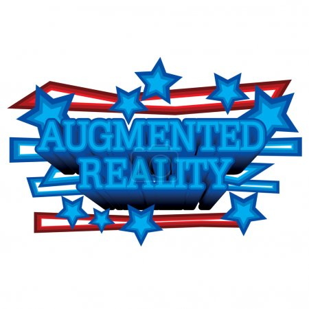 Photo for A simple mnemonic on Augmented Reality - Royalty Free Image