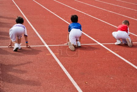 Kids race