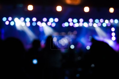 Photo for Concert lights bokeh - Royalty Free Image