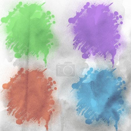 Watercolour painted backgrounds
