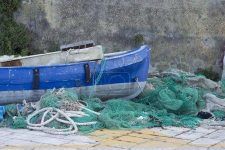 Photo pour Bateaux de pêche en Gallipoli - image libre de droit