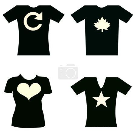 T-shirts, clothing