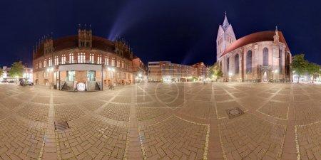 Hannover Marktplatz.