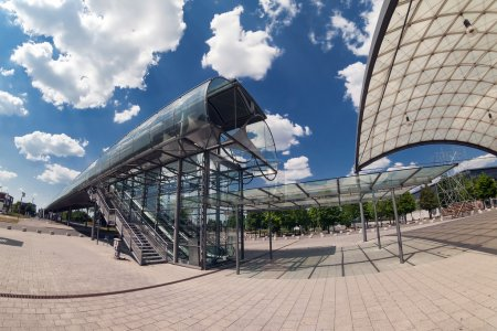 Exhibition center in Hannover