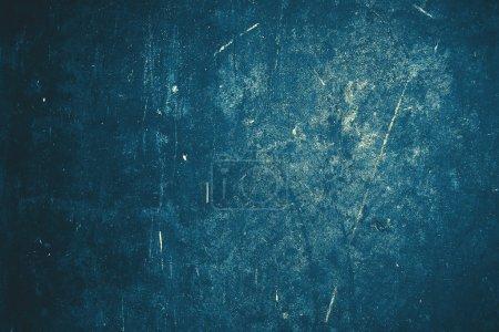 Photo pour Texture de mur bleu grunge - image libre de droit