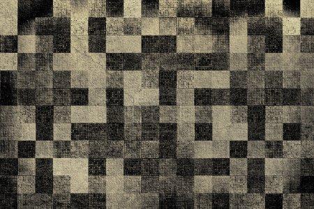 Photo pour Ancien arrière-plan texture à carreaux - image libre de droit