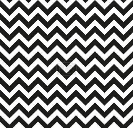 Chevron Zigzag monochrome seamless texture