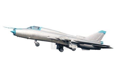 Photo pour Chasseur russe su-17 isolé - image libre de droit