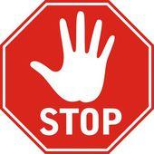 "Постер, картина, фотообои ""stop sign"""