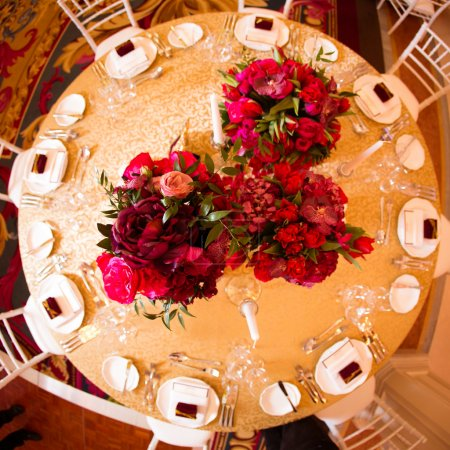 Beautiful decoration on wedding day