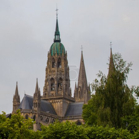 The cathedral Notre-Dame de Bayeux