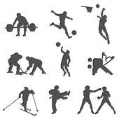 Sport fitness charging isolates health set 1