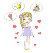 Dreams of a little girl