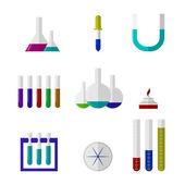 Illustration of chemistry labware