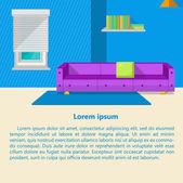 Illustration of lounge