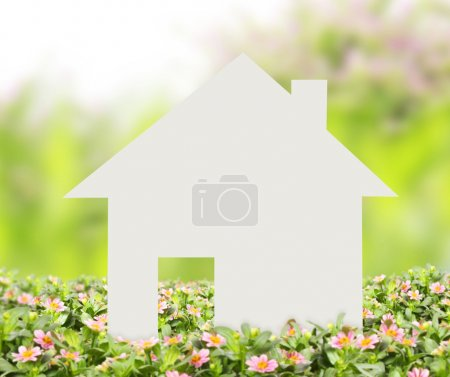 Photo pour Concept image de faire votre une maison - image libre de droit