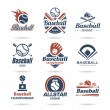 Baseball jobs associated with a set of icons that can be used.