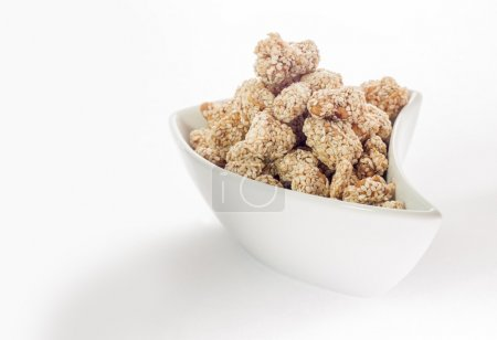 Photo for Sesame in white bowl - Royalty Free Image