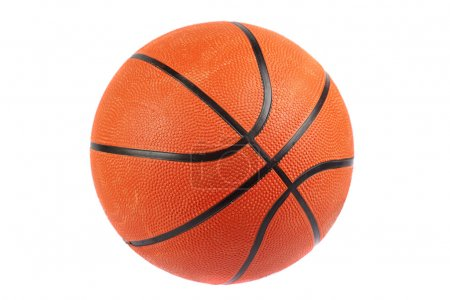 Basketball ball, isolated in white background
