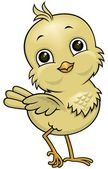 Cartoon little bird 02