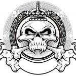 Постер, плакат: Kingdom skull