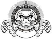 Kingdom skull