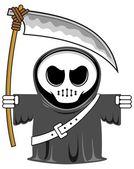Cartoon grim reaper 05