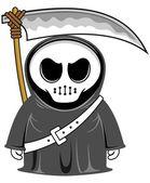 Cartoon grim reaper 03