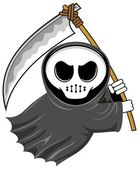 Cartoon grim reaper 01