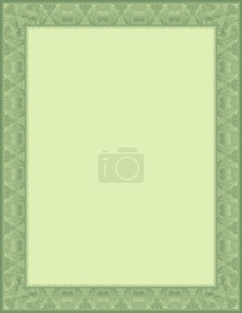 Green background, vector