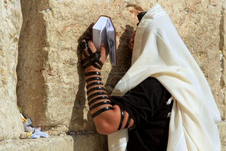 Western Wall pray