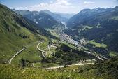Gottardo Pass in Switzerland