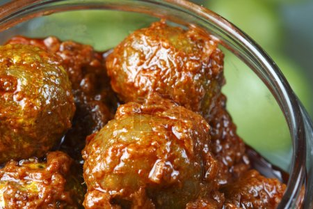 Amla Pickle - A popular Indian pickle containing Amla